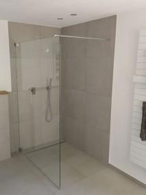 Freistehende Duschwand GMPO