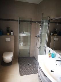Bodengleiche Falttür Dusche F1W