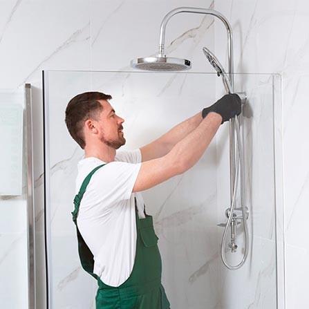 Duschen Montage