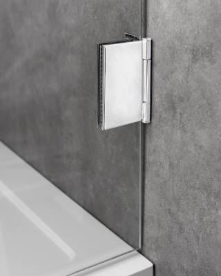 Verstellbares Scharnier für Duschabtrennung